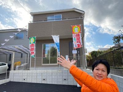 【前面道路含む現地写真】Cradle garden名東区赤松台第1  1号棟【仲介手数料無料】