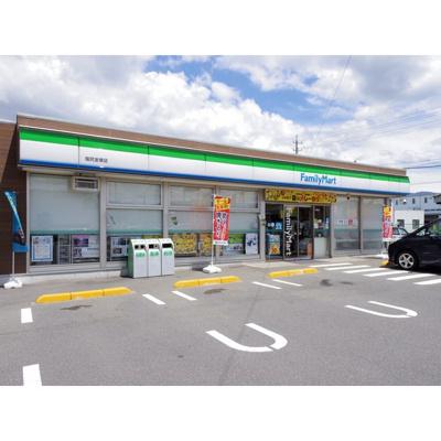 コンビニ「ファミリーマート塩尻金塚店まで351m」