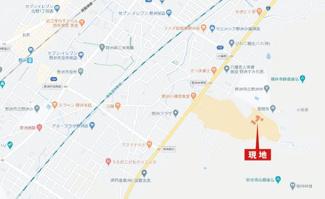 【地図】野洲市小篠原 108号地 売土地