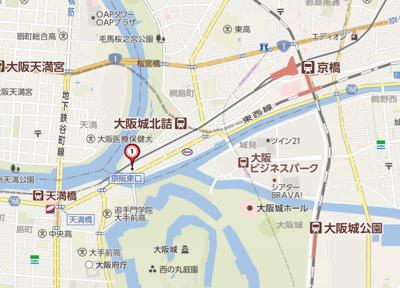 【地図】LuXe片町