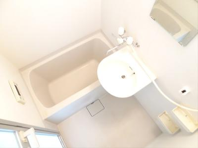 【浴室】コーポはなみずき