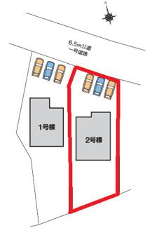 【区画図】カーテンプレゼントキャンペーン実施中♪高崎市岩鼻町第5