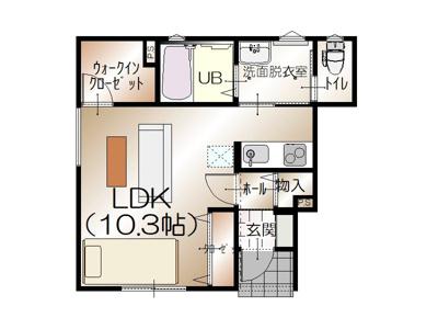 【区画図】D-BOX赤田北(赤田)