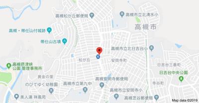 【地図】安岡寺エンビィハイツ