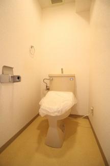 【トイレ】ヴィラ王子公園