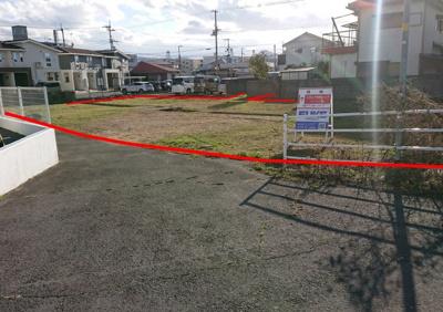 【外観】今津町売土地