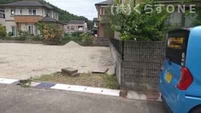 【前面道路含む現地写真】姫路市飾西/3区画