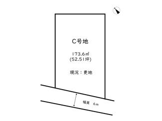 【土地図】姫路市飾西/3区画