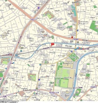 【地図】プレール新宿落合