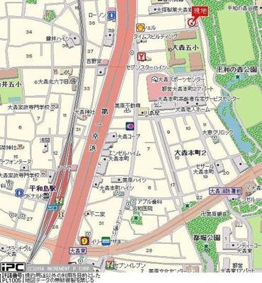 【地図】ライオンズマンション大森本町第3