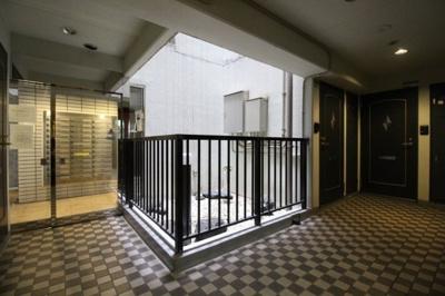 【エントランス】ライオンズマンション大森本町第3