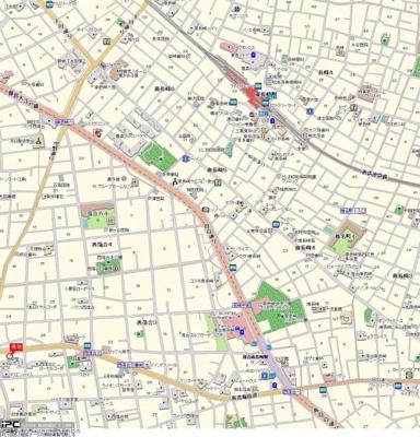 【地図】ワコーレ哲学堂