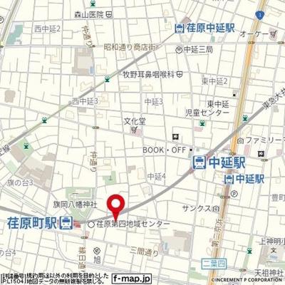 【地図】GRACE中延
