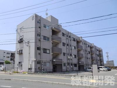 【外観】富任シーコーポラス 6号棟 10号室