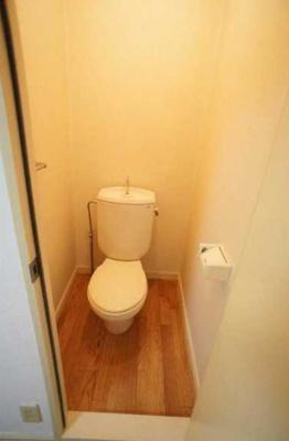 【トイレ】クレール三宿 A棟 バストイレ別 室内洗濯機置場 TVドアフォン