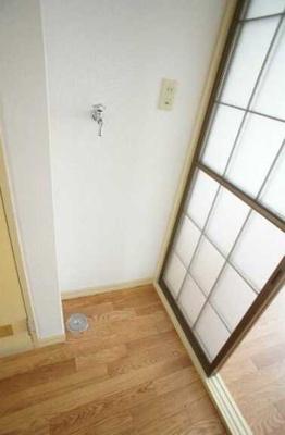 【設備】クレール三宿 A棟 バストイレ別 室内洗濯機置場 TVドアフォン