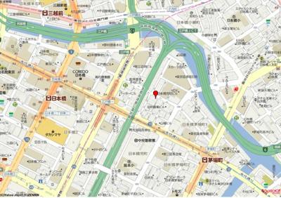 【地図】兜町第二ビル