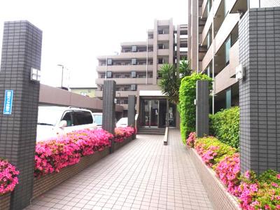 【中庭】横浜線 相模原駅 中央区横山グリーンコーポ相模原パークサイド