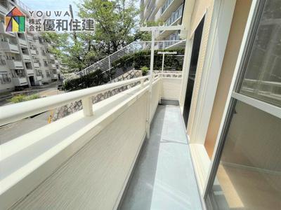 【バルコニー】神戸市垂水区多聞台3丁目 戸建住宅