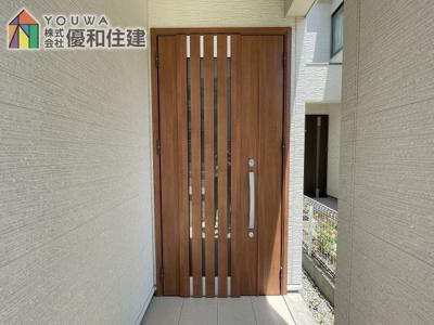 【玄関】神戸市垂水区多聞台3丁目 戸建住宅