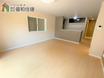 【居間・リビング】神戸市垂水区多聞台3丁目 戸建住宅