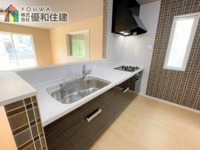【キッチン】神戸市垂水区多聞台3丁目 戸建住宅