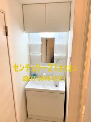 【洗面所】エクセルコート富士見台(フジミダイ)-2F