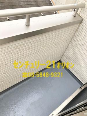 【バルコニー】エクセルコート富士見台(フジミダイ)-2F