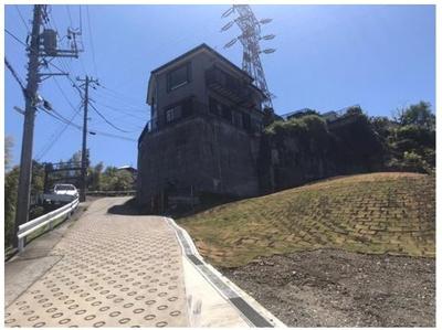【前面道路含む現地写真】鎌倉市大船 売地