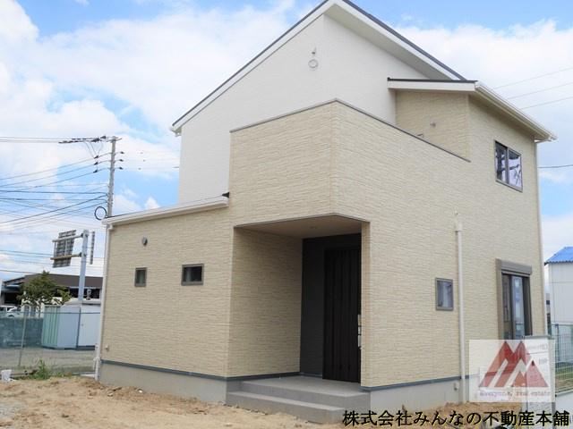 【外観パース】アークテラス姫方Ⅱ 1号棟 サンプラザホーム