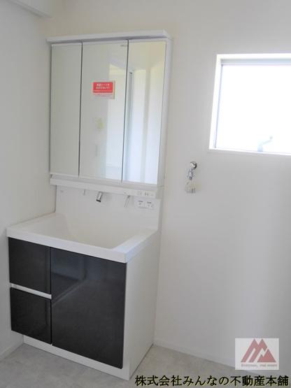 【独立洗面台】アークテラス姫方Ⅱ 2号棟 サンプラザホーム