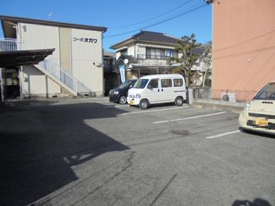 【駐車場】コーポオガワ