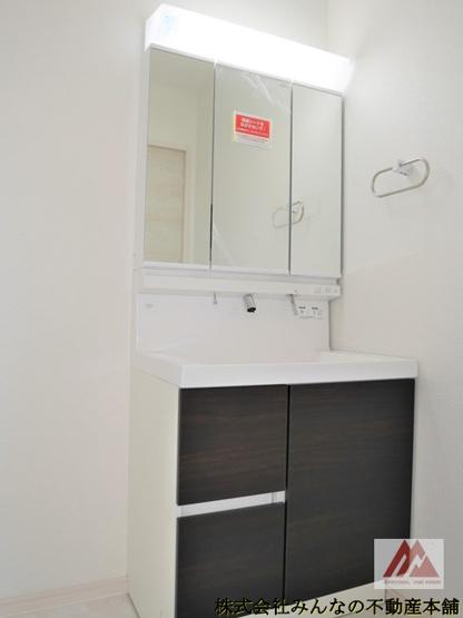 【独立洗面台】久留米市三瀦町第3 オール電化4号棟 一建設株式会社