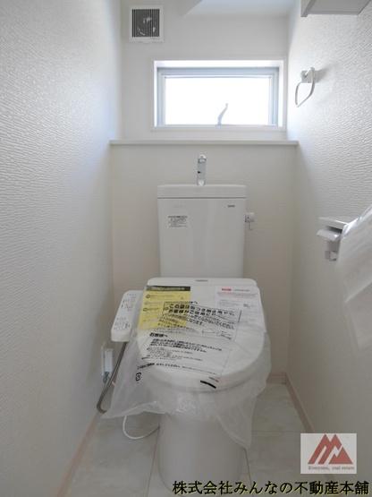 【トイレ】久留米市三瀦町第3 オール電化4号棟 一建設株式会社