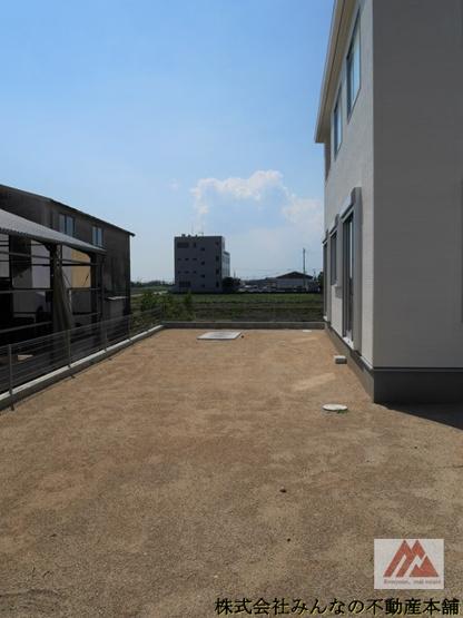 【庭】久留米市三瀦町第3 オール電化4号棟 一建設株式会社