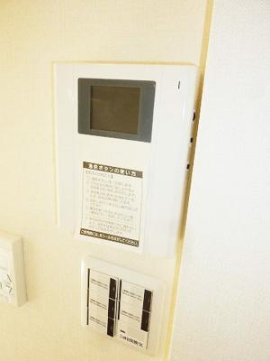 TVモニター付インターホン☆オートロック付★