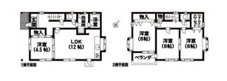 松山市 石手白石 中古住宅 26.29坪