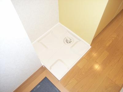 室内洗濯機置場♪