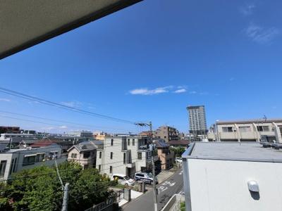 6.0帖側バルコニーからの眺望です。
