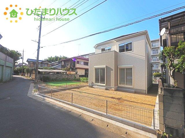 【前面道路含む現地写真】取手市井野台11期 新築戸建