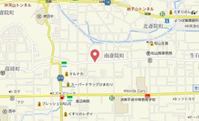 【地図】アネックス・アール A