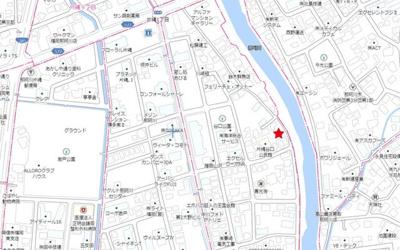 【地図】那珂川市片縄1丁目