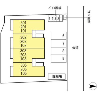 【区画図】ソリッドスクエア光が丘