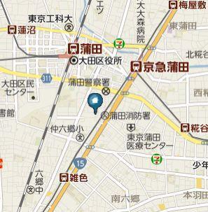 【地図】Cuore Kamata(クオーレカマタ)