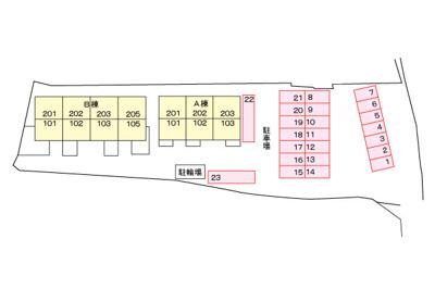 【区画図】ビッグ フォレスト A