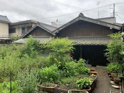 【外観】加東市天神土地(古家付き)