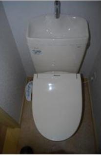 リノベーション済みの綺麗なトイレです♪