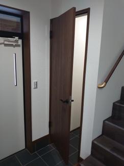 便利な玄関収納があります