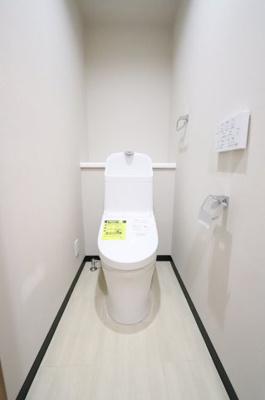 清潔感のあるトイレです:リフォーム完了しました♪平日も内覧出来ます♪三郷新築ナビで検索♪