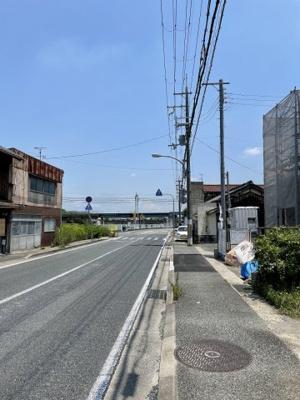 【前面道路含む現地写真】三木市本町3期
